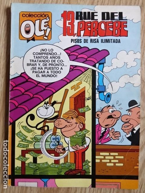 13 RUE DEL PERCEBE Nº 58 PISOS DE RISA ILIMITADA COLECCIÓN OLÉ ! ED. BRUGUERA 1971 1ª EDICIÓN (Tebeos y Comics - Bruguera - Ole)