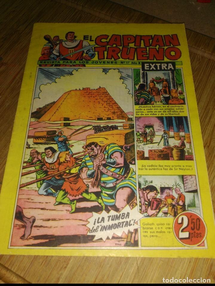 CAPITÁN TRUENO EXTRA Nº 27 ORIGINAL (Tebeos y Comics - Bruguera - Capitán Trueno)