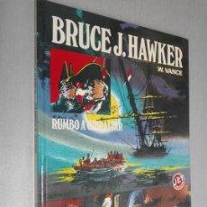 Giornalini: BRUCE J. HAWKER, RUMBO A GIBRALTAR / W. VANCE / JET BRUGUERA 1ª EDICIÓN 1983. Lote 178174295