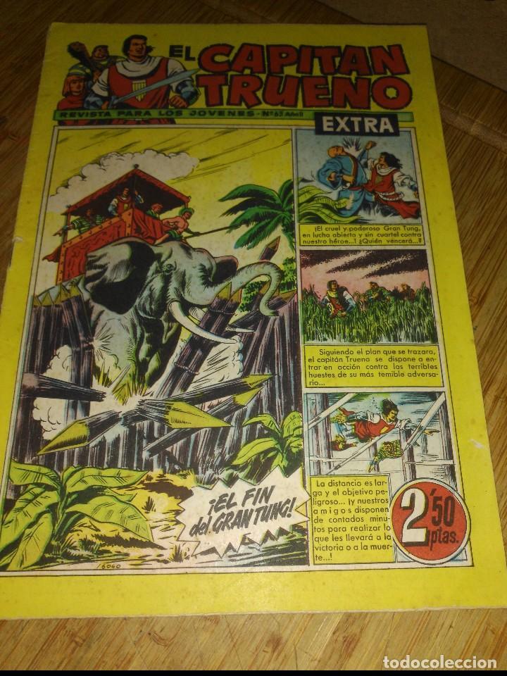 CAPITÁN TRUENO EXTRA Nº 63 ORIGINAL (Tebeos y Comics - Bruguera - Capitán Trueno)
