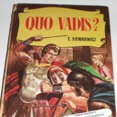 Tebeos: QUO VADIS?, COLECCION HISTORIAS Nº 8 ?, ED BRUGUERA 1957, ERCOM B7. Lote 150270138