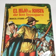 Tebeos: EL HIJO DE ROBIN DE LOS BOSQUES, COLECCION HISTORIAS Nº 137, ED BRUGUERA 1ª EDICIÓN 1961, ERCOM B7. Lote 150278974