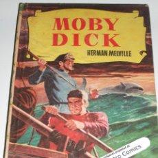 Tebeos: MOBY DICK, COLECCION HISTORIAS Nº 18, ED BRUGUERA 1ª EDICIÓN 1956, ERCOM B7. Lote 150280130