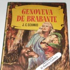 Tebeos: GENOVEVA DE BRABANTE, COLECCION HISTORIAS Nº 15, ED BRUGUERA 1960, ERCOM B7. Lote 150283266