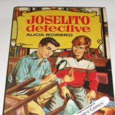 Tebeos: JOSELITO DETECTIVE, COLECCION HISTORIAS Nº 176, ED BRUGUERA 1ª EDICIÓN 1963, ERCOM B7. Lote 150285810