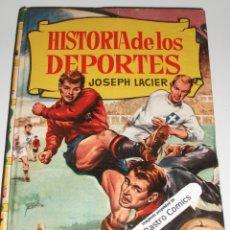 Tebeos: HISTORIA DE LOS DEPORTES, COLECCION HISTORIAS Nº 167, ED BRUGUERA 1ª EDICIÓN 1962, ERCOM B7. Lote 150286578