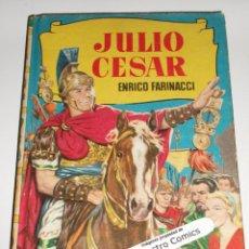 Tebeos: JULIO CESAR, COLECCION HISTORIAS Nº 90, ED BRUGUERA 1964, ERCOM B7. Lote 150287290