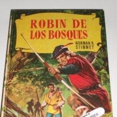 Tebeos: ROBIN DE LOS BOSQUES, COLECCION HISTORIAS Nº 14, ED BRUGUERA 1961, ERCOM B7. Lote 150288426