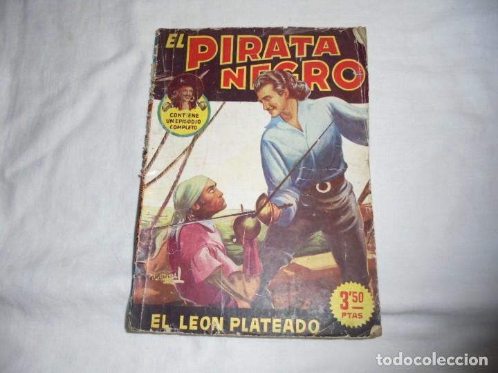 EL LEON PLATEADO.EL PIRATA NEGRO BRUGUERA 1948 (Tebeos y Comics - Bruguera - Otros)