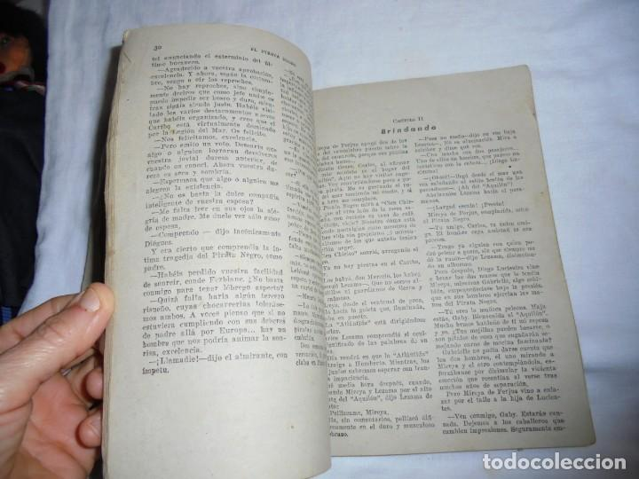 Tebeos: EL LEON PLATEADO.EL PIRATA NEGRO BRUGUERA 1948 - Foto 4 - 150367986