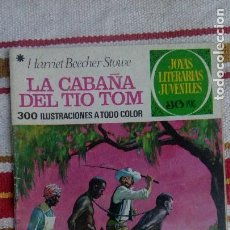 Tebeos: JOYAS LITERARIAS JUVENILES Nº 18: LA CABAÑA DEL TIO TOM. Lote 150561922