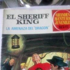 Tebeos: EJEMPLAR DE EL SHERIFF KING. ED. BRUGUERA. 1971.. Lote 150613180