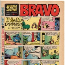 Tebeos: BRAVO Nº 45 (BRUGUERA 1968) PENULTIMO DE LA COLECCION.. Lote 150613726