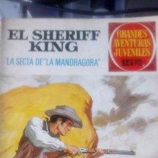 Tebeos: EJEMPLAR DE EL SHERIFF KING. ED. BRUGUERA. 1972.. Lote 150613876