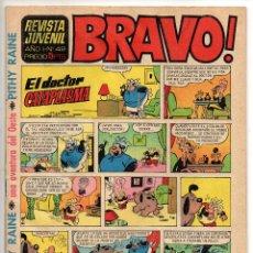 Tebeos: BRAVO Nº 42 (BRUGUERA 1968). Lote 150614142