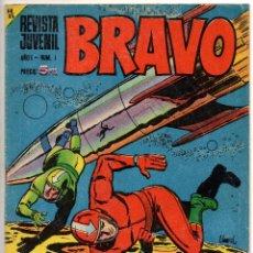 Tebeos: BRAVO Nº 1 (BRUGUERA 1968). Lote 150616206