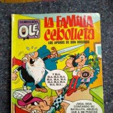 Tebeos: COLECCIÓN OLÉ Nº 59 - LA FAMILIA CEBOLLETA - 1ª EDICIÓN 1971 - D1 - COMPLETO. Lote 150645274