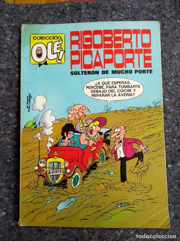 COLECCIÓN OLÉ Nº 7 - RIGOBERTO PICAPORTE - 1ª EDICIÓN 1971 D7 (Tebeos y Comics - Bruguera - Ole)