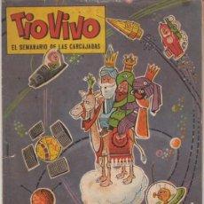 Tebeos: TIOVIVO EXTRA NAVIDAD 1962. IBÁÑEZ, ESCOBAR, CIFRÉ, ENRICH, PEÑARROYA, CONTI EDITORIAL BRUGUERA 1958. Lote 150712742
