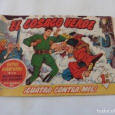 Tebeos: COSACO VERDE Nº 20 ORIGINAL. Lote 150732326