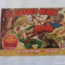 Tebeos: COSACO VERDE Nº 21 ORIGINAL. Lote 150732450