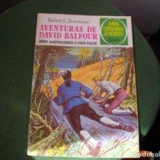 Tebeos: JOYAS LITERARIAS - AVENTURAS DE DAVID BALFOUR- Nº 82 -EL DE LAS FOTOS VER TODOS MIS COMIC. Lote 150738534