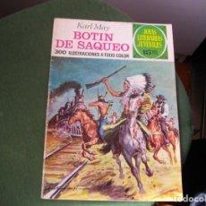 Tebeos: JOYAS LITERARIAS - BOTIN DE SAQUEO- Nº 87 -EL DE LAS FOTOS VER TODOS MIS COMIC. Lote 150739750