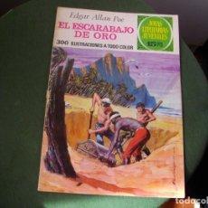 Tebeos: JOYAS LITERARIAS - EL ESCARABAJO DE ORO- Nº 88 -EL DE LAS FOTOS VER TODOS MIS COMIC. Lote 150739926