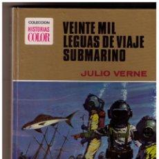 Tebeos: VEINTE MIL LEGUAS DE VIAJE SUBMARINO, COLECCION HISTORIAS COLOR, SERIE JULIO VERNE, 1ª ED. 1971. Lote 150745010