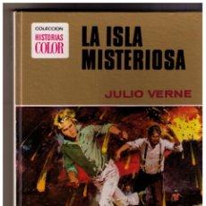 Tebeos: LA ISLA MISTERIOSA, COLECCION HISTORIAS COLOR, SERIE JULIO VERNE, 1ª ED. 1972. Lote 150746898