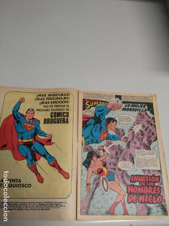Tebeos: COMICS BRUGUERA SUPER - ACCION SUPERMAN N° 95 - Foto 2 - 150848614