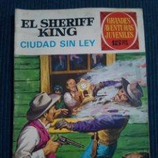 Tebeos: EL SHERIFF KING Nº 18 1ª EDICION. Lote 151088794