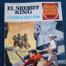 Tebeos: EL SHERIFF KING Nº 20 1ª EDICION. Lote 151090142