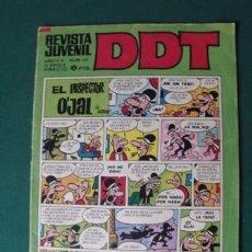 Tebeos: TEBEO REVISTA JUVENIL DDT Nº 225 - AÑO XX - III ÉPOCA - 6 PTS. Lote 151172954