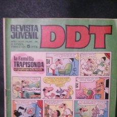 Tebeos: DDT-AÑO XVIII-Nº 120-III EPOCA. Lote 151180638
