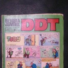 Tebeos: DDT-AÑO XIX-Nº 136-III EPOCA. Lote 151180658