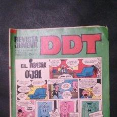 Tebeos: DDT-AÑO XX-Nº 204-III EPOCA. Lote 151180730