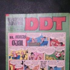 Tebeos: DDT-AÑO XX-Nº 218-III EPOCA. Lote 151180750