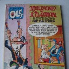 Tebeos: MORTADELO Y FILEMÓN. EL BOTONES SACARINO Y SIR TIM O'THEO - F. IBÁÑEZ (BRUGUERA OLÉ 183 1979). 1ª ED. Lote 151202990