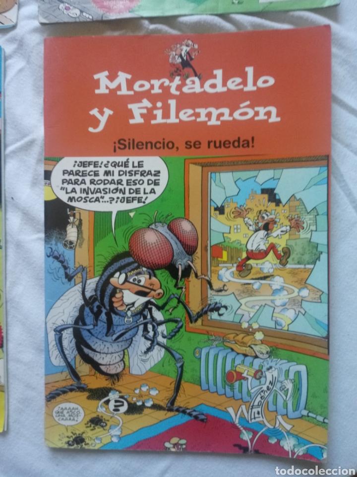 Tebeos: MORTADELO Y FILEMON SILENCIO SE RUEDA +GENTE MENUDA - Foto 2 - 151224746