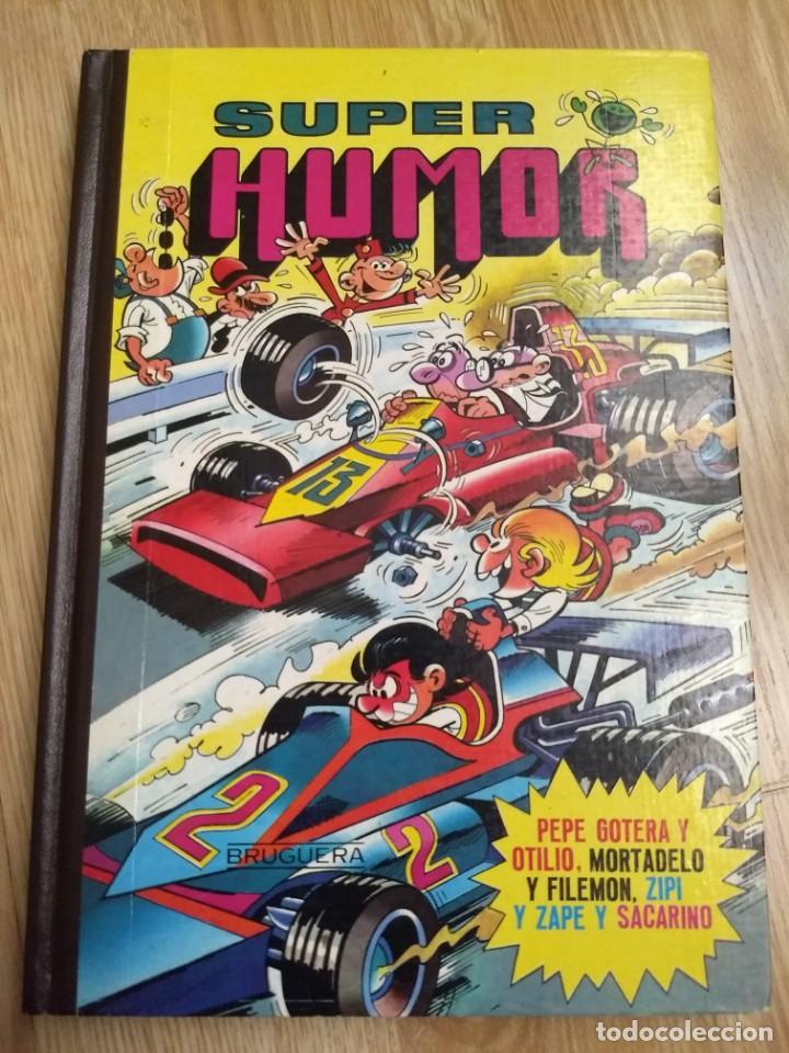 SUPER HUMOR XV. PEPE GOTERA Y OTILIO, MORTADELO Y FILEMON, ZIPI Y ZAPE Y SACARINO. (Tebeos y Comics - Bruguera - Super Humor)