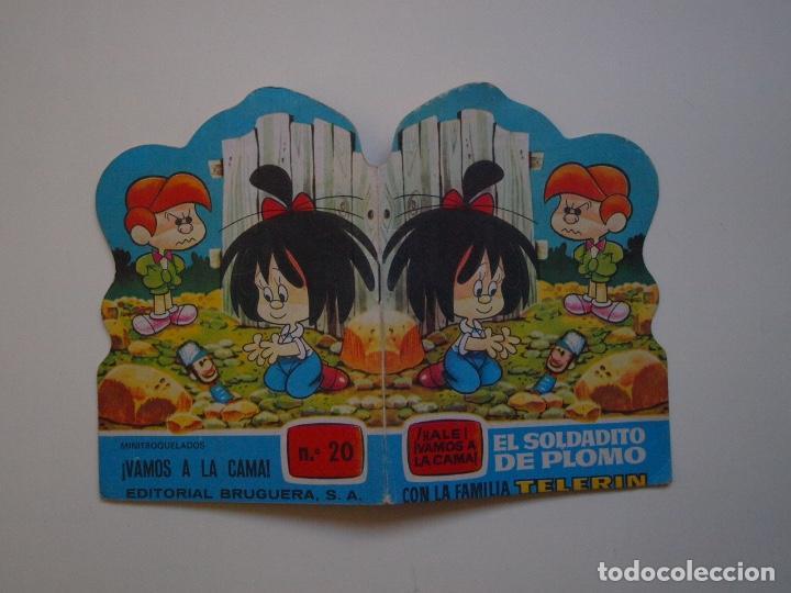 MINITROQUELADOS ¡VAMOS A LA CAMA! Nº 20 - FAMILIA TELERÍN - BRUGUERA 1966 - CUENTO TROQUELADO (Tebeos y Comics - Bruguera - Otros)