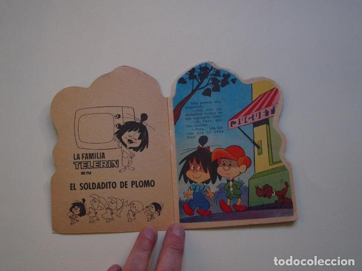 Tebeos: MINITROQUELADOS ¡VAMOS A LA CAMA! Nº 20 - FAMILIA TELERÍN - BRUGUERA 1966 - CUENTO TROQUELADO - Foto 2 - 151314146
