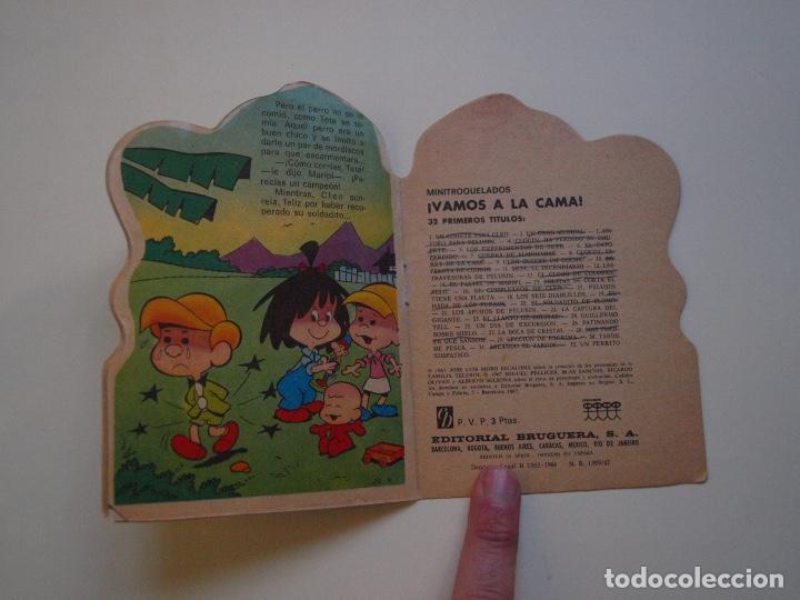 Tebeos: MINITROQUELADOS ¡VAMOS A LA CAMA! Nº 20 - FAMILIA TELERÍN - BRUGUERA 1966 - CUENTO TROQUELADO - Foto 3 - 151314146