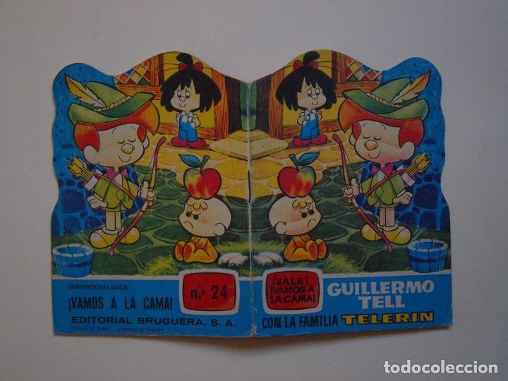 MINITROQUELADOS ¡VAMOS A LA CAMA! Nº 24 - FAMILIA TELERÍN - BRUGUERA 1966 - CUENTO TROQUELADO (Tebeos y Comics - Bruguera - Otros)