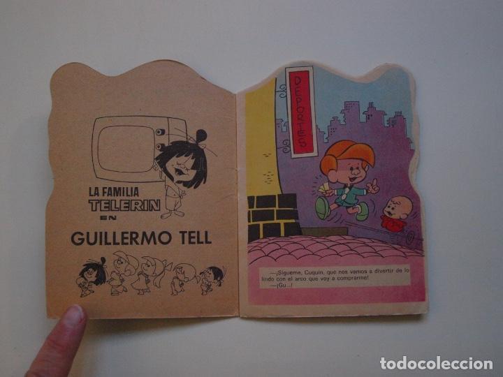 Tebeos: MINITROQUELADOS ¡VAMOS A LA CAMA! Nº 24 - FAMILIA TELERÍN - BRUGUERA 1966 - CUENTO TROQUELADO - Foto 2 - 151322626