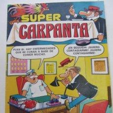 Tebeos: SUPER CARPANTA Nº 49 1981. BRUGUERA CX05. Lote 151484250