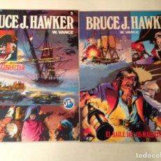 Tebeos: BRUCE HAWKER W. VANCE. Lote 151485898