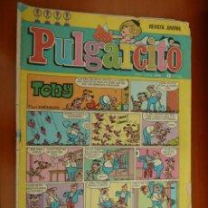 Tebeos: PULGARCITO BRUGUERA Nº 2419 TOBY. Lote 151499618