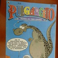 Tebeos: PULGARCITO BRUGUERA Nº 22 HUG EL TROGLODITA MUY BUEN ESTADO. Lote 151506782